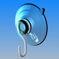 15985-Suction Cup w/Hook 1.5