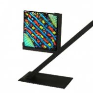 25801-Clarity Art Glass Display Stand