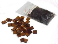 64102-Spectrum Glass Chips 96 Md.Amber 1/2#
