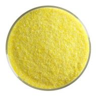 BU022091F-Frit Fine Sunflower Yellow Opal 1# Jar