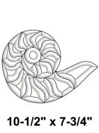 EC300-Exquisite Cluster Snail Shell