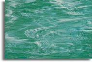 S82372H Teal Green/White Cathedral