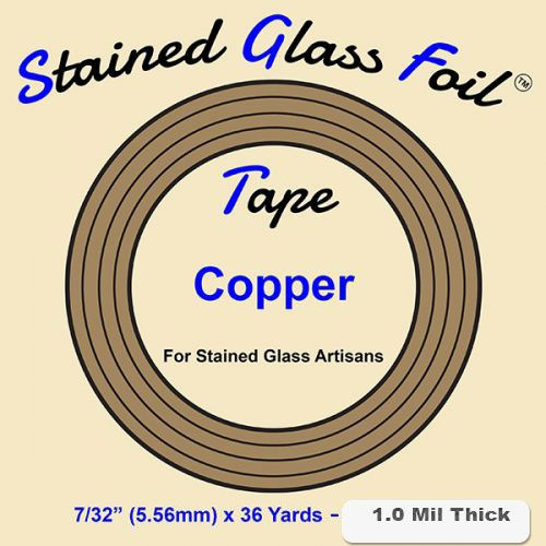 12570-Stained Glass Foil Copper 7/32