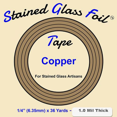 12572-Stained Glass Foil Copper 1/4