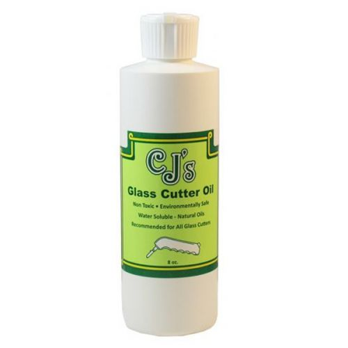 14419-C.J.'S Glass Cutting Oil 8oz.