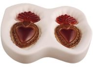 47513-Flaming Hearts Mold