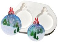 47344-Two Round Ornaments