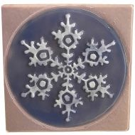 47381-Snowflake in Square Texture Mold