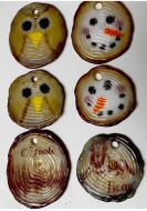 47382-Log Slice Ornaments Mold