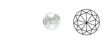 62401-Value 25MM Clear Round 30 Facets