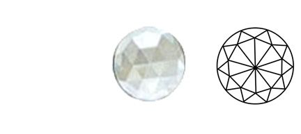 62404-Value 40MM Clear Round 30 Facets