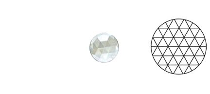 62406-Value 20MM Clear Round 54 Facets