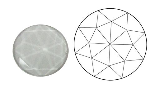 62420-15MM Clear Round