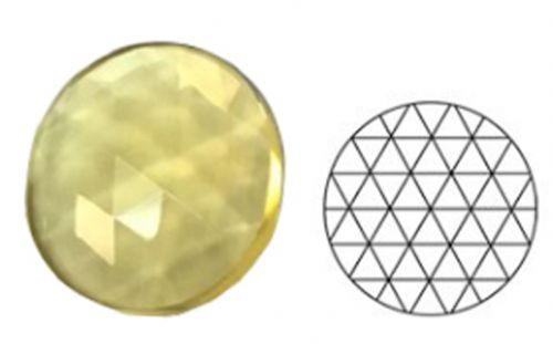 62346-30MM Pl. Amber Round 54 Facets
