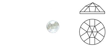 62399-Value 18MM Clear Round 18 Facets
