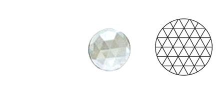 62408-Value 30MM Clear Round 54 Facets