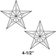EC226-Exquisite Cluster Medium 5 Point Star