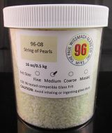 WF9559-Frit 96 Medium String of Pearls Opal #96-08 1# Jar