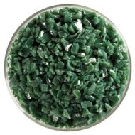 BU014193F-Frit Coarse Dark Forest Green Opal 1# Jar