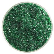 BU114592F-Frit Med. Kelly Green Cathedral 1# Jar