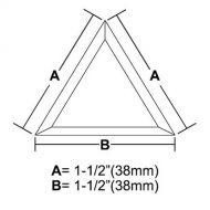 BVT15-Triangle Bevel 1.5