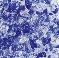 UF5102-Frit 96 Coarse Cobalt Blue/Clear #4240